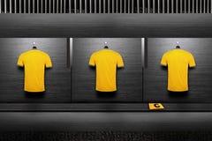 Het overhemd van het voetbalteam Royalty-vrije Stock Afbeeldingen