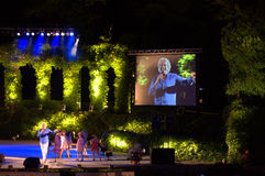 Het overleg Varna, Bulgarije van het de zomertheater Stock Foto's