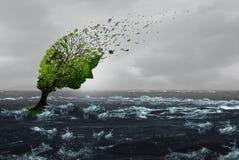 Het overleven van een Onweer vector illustratie