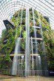 Het overspannen van 101 hectaren teruggewonnen land in centraal Singapore, advertentie royalty-vrije stock afbeeldingen