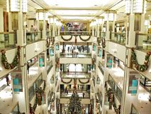 Het overvolle Winkelen Royalty-vrije Stock Fotografie
