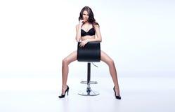 Het overweldigen brunette Royalty-vrije Stock Fotografie