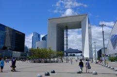 Het overweldigen en indrukwekkende moderne architectuur Stock Fotografie