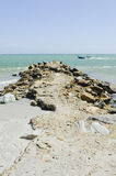 Het overweldigen Playa Gr Yaque, het eiland van Margarita, Venezuela, Zuid-Amerika Stock Foto's