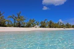 Het overweldigende strand van de Bahamas Royalty-vrije Stock Foto