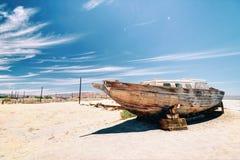 Het Overzees Californië van Salton stock afbeelding