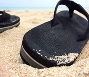 Het Overzees @ Cebu van de zandzon Royalty-vrije Stock Foto's