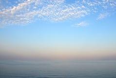 Het overzees - een kalmering royalty-vrije stock afbeelding
