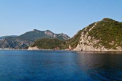 Het overzees en de bergen Royalty-vrije Stock Afbeeldingen