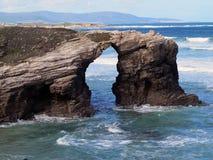 Het overzees en het strand Royalty-vrije Stock Afbeelding