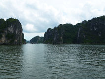 Het overzees in Ha snakt Baai Stock Afbeelding