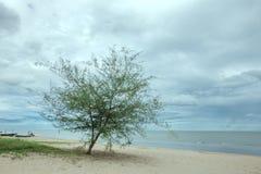 Het overzees in Hua Hin Fome in Thailand Stock Afbeelding