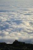 Het Overzees Pico de Azoren van de wolk Stock Afbeeldingen