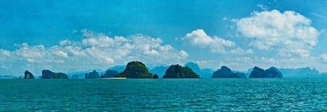 Het overzees van Andaman Royalty-vrije Stock Foto's
