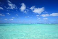 Het Overzees van Aqua Stock Foto's
