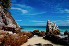 Het overzees van de de reisaard van Thailand Phuket Stock Afbeelding