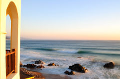 Het overzees van de ochtend Stock Foto