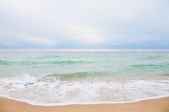 Het overzees van de zomer Stock Fotografie