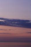 Het overzees van de zonsondergang Royalty-vrije Stock Foto's