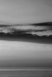 Het overzees van de zonsondergang Royalty-vrije Stock Foto