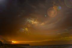 Het overzees van Gokceada Stock Foto's