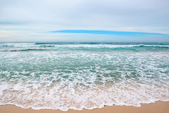 Het overzees van golven Royalty-vrije Stock Afbeelding