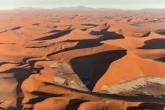 Het Overzees van het Namibzand - Namibië Royalty-vrije Stock Foto