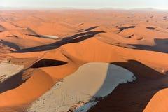 Het Overzees van het Namibzand - Namibië Royalty-vrije Stock Fotografie