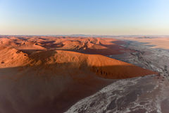 Het Overzees van het Namibzand - Namibië Royalty-vrije Stock Afbeelding