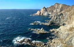 Het overzees van Japan, Primorsky-krai. Rusland stock fotografie