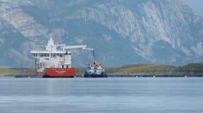 Het overzees van Noorwegen Stock Afbeelding