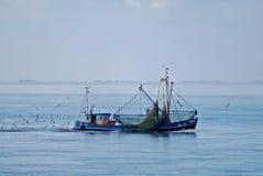 Het Overzees van Nord van de vissersboot Stock Afbeeldingen