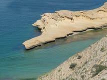 Het overzees van Oman Stock Afbeeldingen