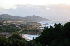 Het Overzees van Testa van Capo stock foto's