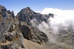 Het overzees van wolken/brengt DE Nubes in de war Royalty-vrije Stock Fotografie