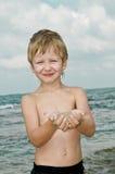 Het overzees van zand. Royalty-vrije Stock Foto's