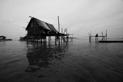 Het overzeese Huis van Bajau Stock Foto's