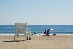 Het overzeese Strand van Girt Royalty-vrije Stock Foto's