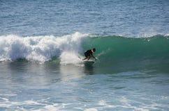 Het overzeese surfen Stock Fotografie