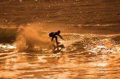 Het overzeese surfen Stock Afbeeldingen