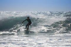 Het overzeese surfen Stock Afbeelding