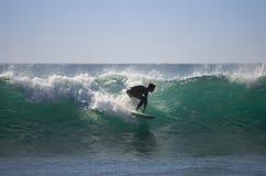 Het overzeese surfen Royalty-vrije Stock Foto