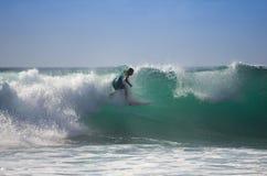 Het overzeese surfen Stock Foto