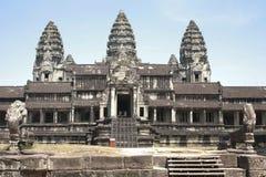 Het overzicht van Angkor Wat, Kambodja Stock Afbeelding