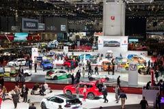 Het overzicht van de de Motorshow 2016 van Genève Stock Afbeelding