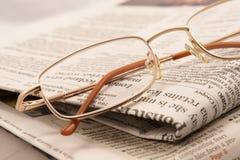 Het overzicht van de pers Stock Fotografie