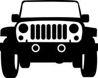 Het Overzicht van de Vrachtwagen van de jeep Royalty-vrije Stock Foto
