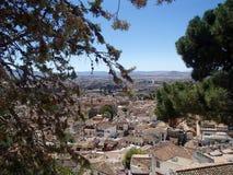 Het overzicht van Granada Royalty-vrije Stock Afbeelding