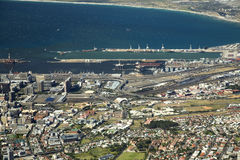 Het overzicht van Kaapstad royalty-vrije stock fotografie