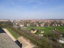 Het overzicht van Leipzig, Duitsland royalty-vrije stock foto